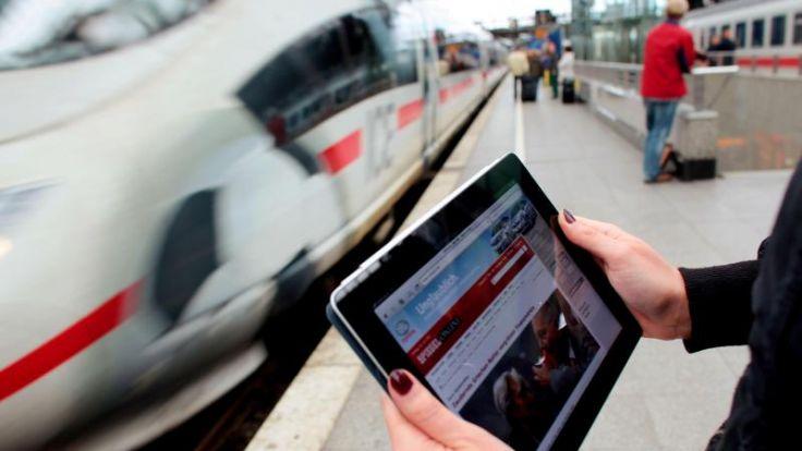 ICE-Züge bekommen bis Jahresende stabilen Internetzugang (Foto)