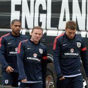 England startet zweites WM-Trainingslager (Foto)