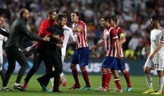 UEFA ermittelt nach Finale: Atletico-Coach droht Strafe (Foto)