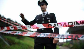 Carabinieri ermitteln den Unfallhergang, Kameras wurden beschlagnahmt. (Foto)