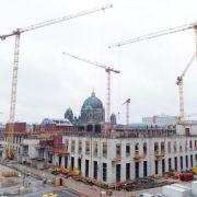 Voll im Kostenplan: Berliner Stadtschloss wächst (Foto)