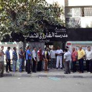 Schwache Beteiligung: Präsidentenwahl in Ägypten verlängert (Foto)