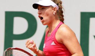 Kerber in der dritten Runde der French Open (Foto)