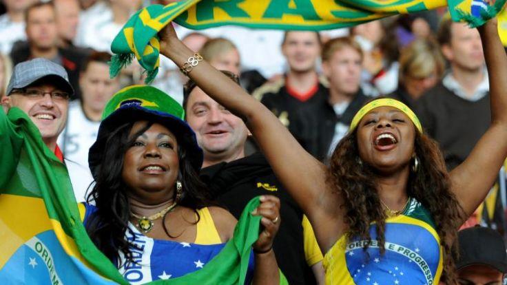 Brasiliens Regierung vor WM: «Enthusiasmus und Stolz» (Foto)