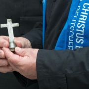 Merkel diskutiert beim Katholikentag über Europa (Foto)
