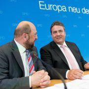 Gabriel: Europa braucht Juncker und Schulz (Foto)
