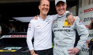 Gemeinsam machten Michael und Ralf Schumacher die Rennwelt unsicher. (Foto)