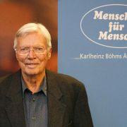 Karlheinz Böhm engagierte sich neben seiner Arbeit als Schauspieler auch für Hilfsprojekte in Äthiopien.