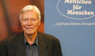 Karlheinz Böhm engagierte sich neben seiner Arbeit als Schauspieler auch für Hilfsprojekte in Äthiopien. (Foto)
