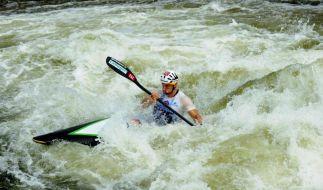 Olympiasieger Grimm paddelt wieder auf großer Bühne (Foto)