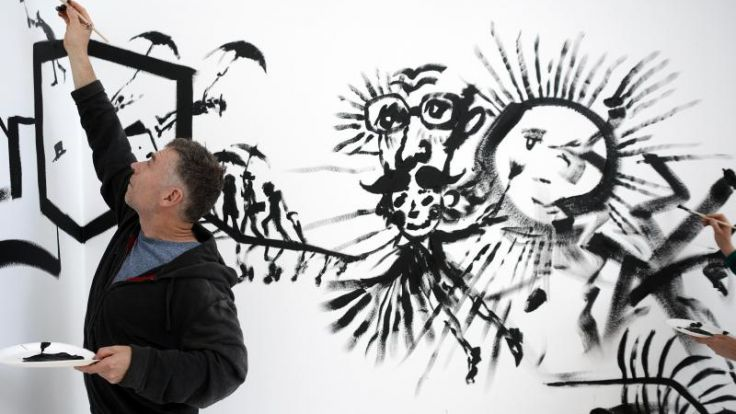 Althamer schafft «Kinderkönigreich» in Aachen (Foto)