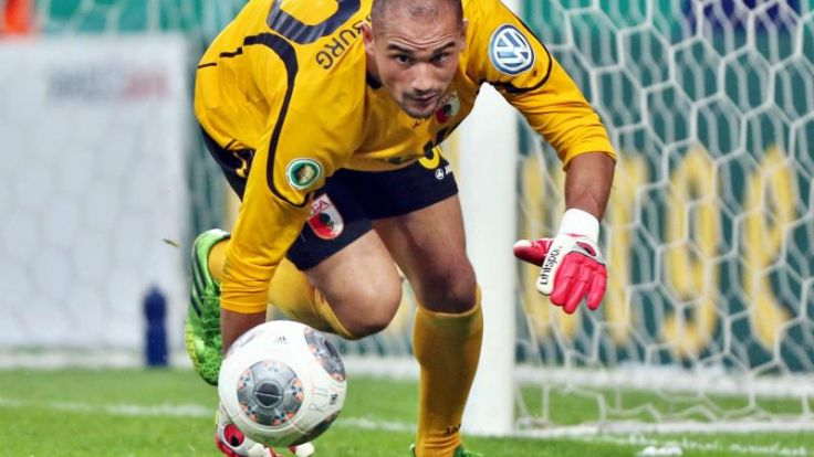 Union holt Torwart Amsif vom FC Augsburg (Foto)