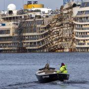 Zeitung: «Costa Concordia» wird in Genua verschrottet (Foto)