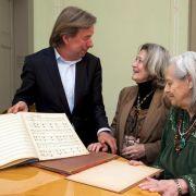 Mendelssohn-Manuskript kehrt nach Leipzig zurück (Foto)