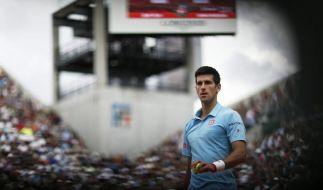 Djokovic und Federer bei French Open im Achtelfinale (Foto)