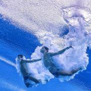 Rang zwei für Klein/Hausding bei Wassersprung-Weltserie (Foto)