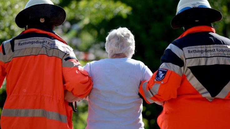 Drei Menschen sterben bei Feuer in Seniorenheim (Foto)