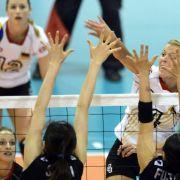 DVV-Frauen stehen in Montreux im Halbfinale (Foto)