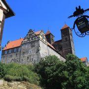 Gesang der mittelalterlichen Stiftsfrauen in Quedlinburg (Foto)
