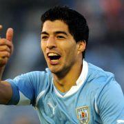 Torjäger Suàrez im 23-Mann-Kader Uruguays für die WM (Foto)