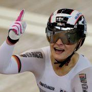 Weltmeisterin Vogel gelingt in Moskau erneut ein Triple (Foto)