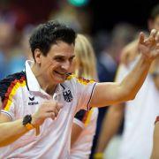Deutsche Volleyballerinnen stehen in Montreux im Finale (Foto)