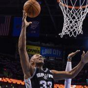 Spurs erreichen NBA-Finals - Neuauflage gegen Miami (Foto)