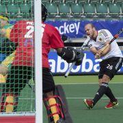 Hockey-Herren starten mit 4:0 über Südafrika in die WM (Foto)