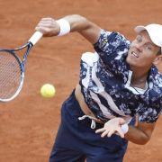 Tscheche Berdych erster Viertelfinalist bei French Open (Foto)
