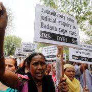 Drei Verdächtige gestehen Gruppenvergewaltigung in Indien (Foto)