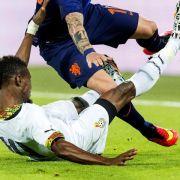 Verletzung von Akaminko schockt Ghana (Foto)