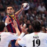 Champions League: FC Barcelona Dritter (Foto)