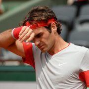 Pariser Fans traurig: Aus für Federer im Achtelfinale (Foto)