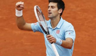 Djokovic souverän ins Viertelfinale - Sieg über Tsonga (Foto)