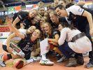 Deutschlands Volleyballerinnen hatten bei der WM 2014 in Italien nicht viel zu jubeln. (Foto)