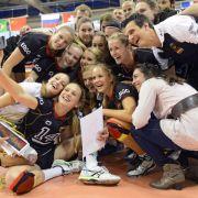 DVV-Frauen gewinnen überraschend Volley Masters (Foto)