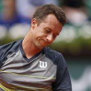 French Open: Kohlschreiber-Pech, Kerber schwach (Foto)
