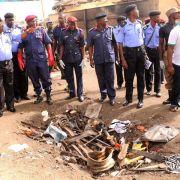 Blutiges Wochenende in Nigeria (Foto)