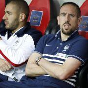 Frankreich zittert: Schafft es Ribéry zur WM? (Foto)