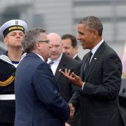 Obama beginnt seine Europareise in Polen (Foto)