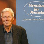 Trauerfeier für Karlheinz Böhm nächste Woche in Salzburg (Foto)