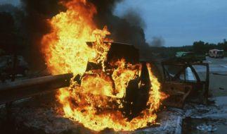 Können Autos bei einem Unfall explodieren? (Foto)