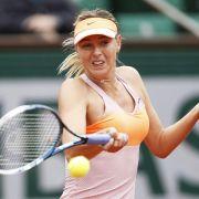 Scharapowa und Bouchard im French-Open-Halbfinale (Foto)