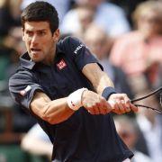 Djokovic und Gulbis erste Herren-Halbfinalisten in Paris (Foto)