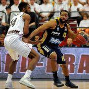 Pokalsieger ALBA im Finale der Basketball Bundesliga (Foto)