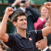 Djokovic im Paris-Halbfinale - Scharapowa mit Nerven (Foto)