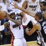 Auf ein Neues: NBA-Finale «Heat Spurs 2.0» (Foto)