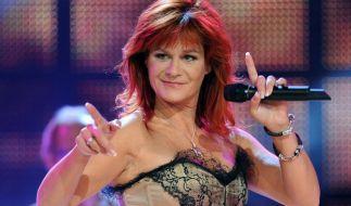 Andrea Berg zeigt sich gerne freizügig auf der Bühne. (Foto)