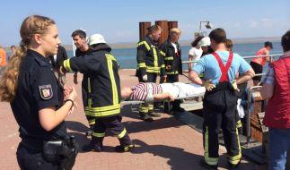 27 Verletzte, drei in Lebensgefahr - das ist die erste Bilanz nach dem Fährschiff-Unfall. (Foto)