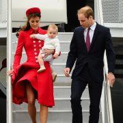 Schon auf Neuseeland hätte der Wind an Kates Outfits fast mehr entblößt, als er sollte.